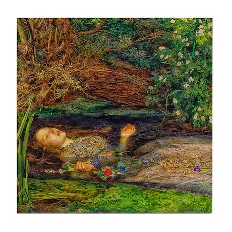 Millais: Drowning Ophelia Tile Coaster