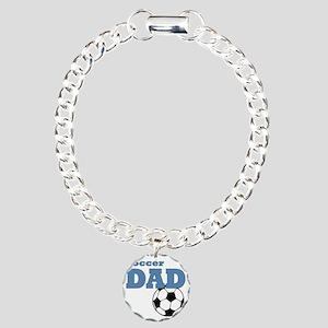 Soccer Dad Charm Bracelet, One Charm
