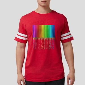 Melting Rainbow Pencils T-Shirt