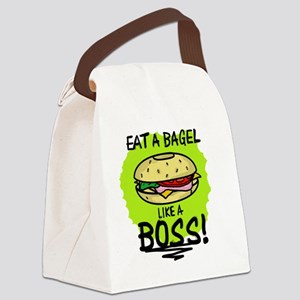 LIKE A BOSS - BAGEL Canvas Lunch Bag