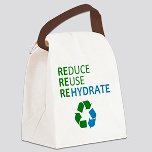 rererehydrate Canvas Lunch Bag