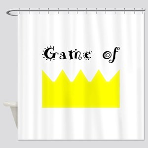Game of crown, Queen, king Shower Curtain