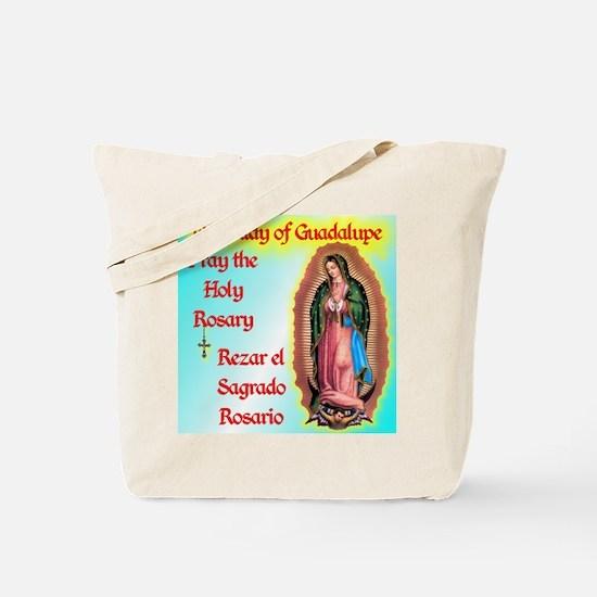 pray_mouse_blue_olg Tote Bag