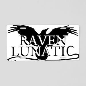 RavenLunaticb Aluminum License Plate