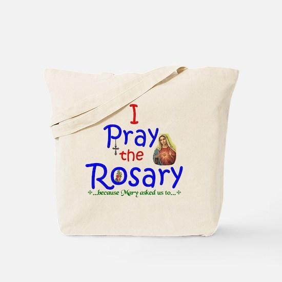 2-pray_12x12 Tote Bag