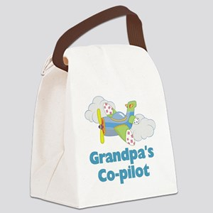grandpas copilot Canvas Lunch Bag