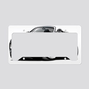 Crossfire Black Convertible License Plate Holder