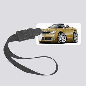Crossfire Gold Convertible Small Luggage Tag