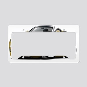 Crossfire Gold Convertible License Plate Holder