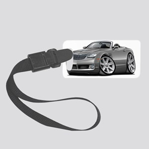 Crossfire Grey Convertible Small Luggage Tag