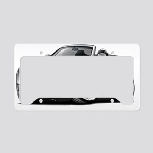 Crossfire Grey Convertible License Plate Holder