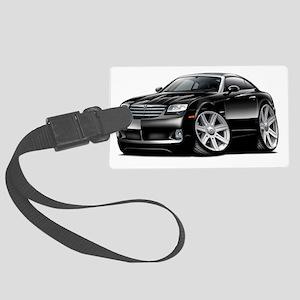 Crossfire Black Car Large Luggage Tag