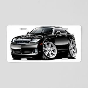Crossfire Black Car Aluminum License Plate