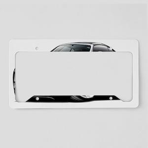 Crossfire Black Car License Plate Holder