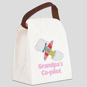 copilot girl Canvas Lunch Bag