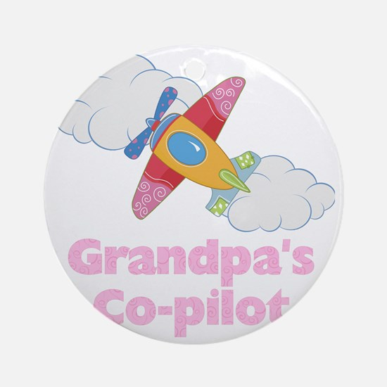 copilot girl Round Ornament
