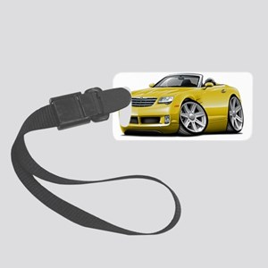 Crossfire Yellow Convertible Small Luggage Tag