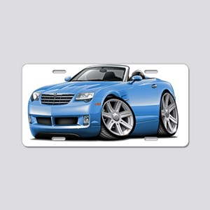 Crossfire Lt Blue Convertib Aluminum License Plate