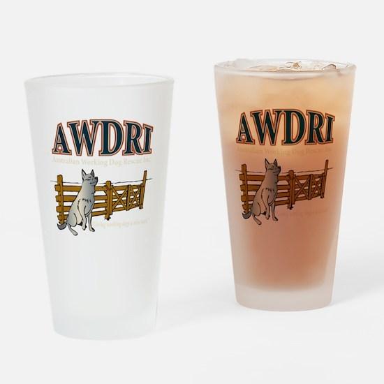 AWDRI Logo1 Drinking Glass