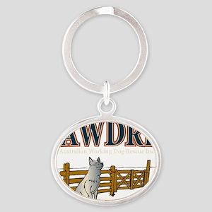 AWDRI Logo1 Oval Keychain