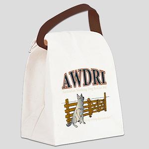 AWDRI Logo1 Canvas Lunch Bag