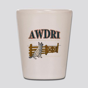 AWDRI Logo1 Shot Glass