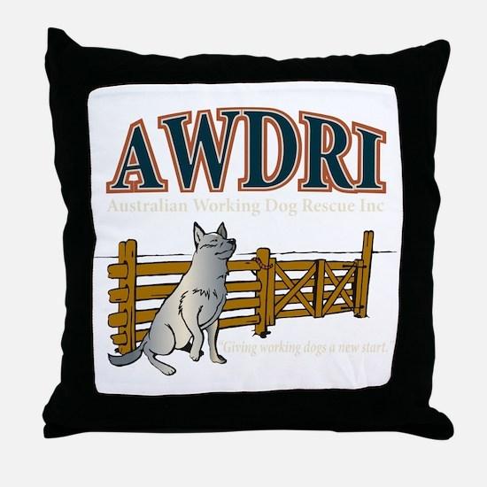 AWDRI Logo1 Throw Pillow