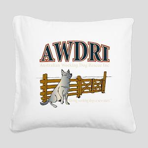 AWDRI Logo1 Square Canvas Pillow