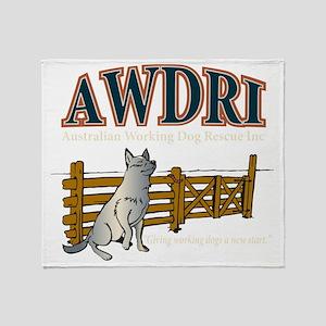 AWDRI Logo1 Throw Blanket