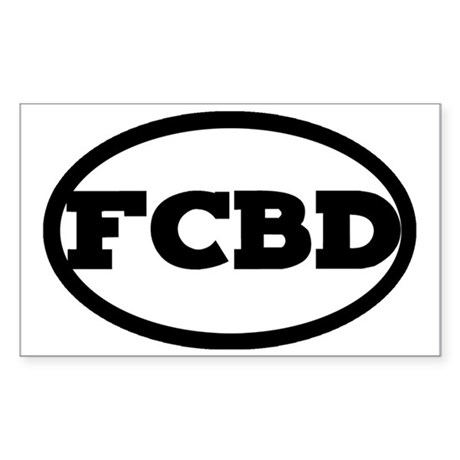 FCBD Sticker (Rectangle)
