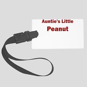 Aunties Little Peanut Luggage Tag