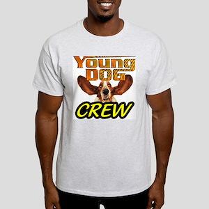 Young Dog Ash Grey T-Shirt