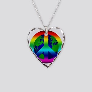PeaceOnEarth Necklace Heart Charm
