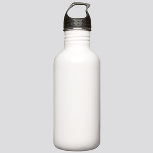 mannazwhite Stainless Water Bottle 1.0L