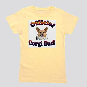 Official Corgi Dad Tri OC Girl's Tee