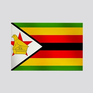 Flag of Zimbabwe Rectangle Magnet