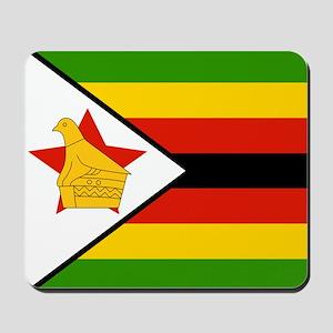 Flag of Zimbabwe Mousepad