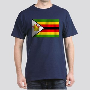 Flag of Zimbabwe Dark T-Shirt