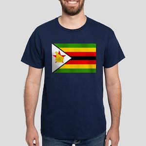 Flag of Zimbabwe Dark T-Shirt