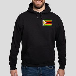 Flag of Zimbabwe Hoodie (dark)