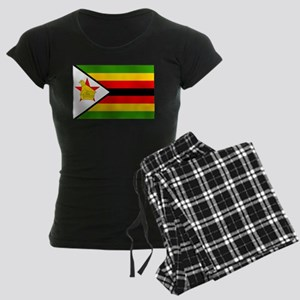 Flag of Zimbabwe Women's Dark Pajamas