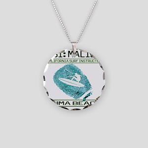 CSIMALIBUb Necklace Circle Charm