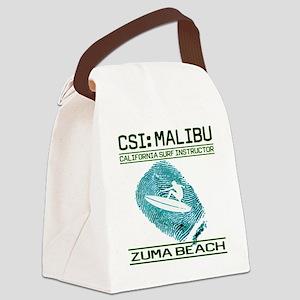 CSIMALIBUb Canvas Lunch Bag