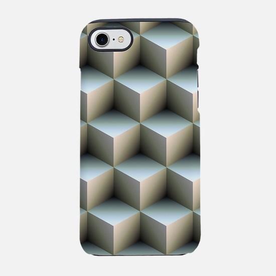 Ambient Cubes iPhone 7 Tough Case