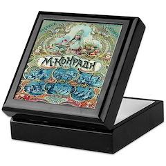 Russian Chocolate Vintage Ad Keepsake Box