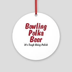 I'm Polish Ornament (Round)
