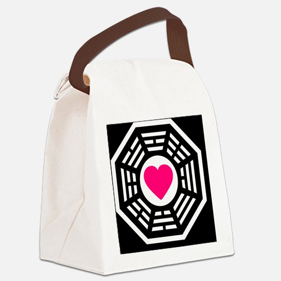 Dharma Love 2 BBtn Canvas Lunch Bag