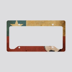 vintageChile5 License Plate Holder