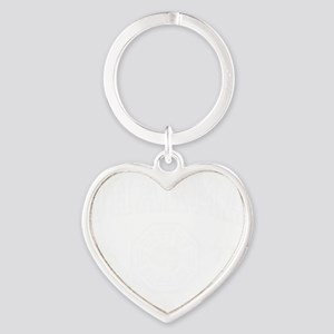 Dharma Grunge lt Heart Keychain