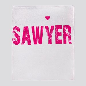 Sawyer Thing pk Throw Blanket